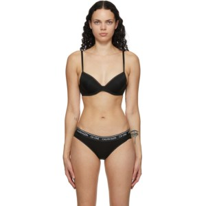 Calvin Klein Underwear Black Strapless Push Up Bra