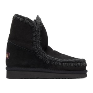 Mou Black 18 Ankle Boots