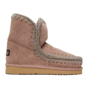 Mou Pink 18 Ankle Boots