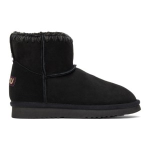 Mou Black Classic Boots