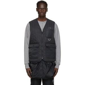 Li-Ning Black Quilted Workwear Vest