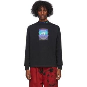 Li-Ning Black Long Sleeve Hexagon T-Shirt