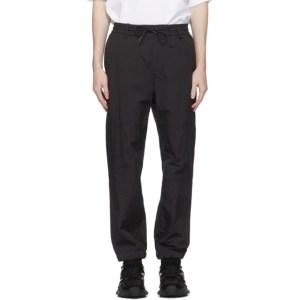 Juun.J Black Technical Cargo Pants