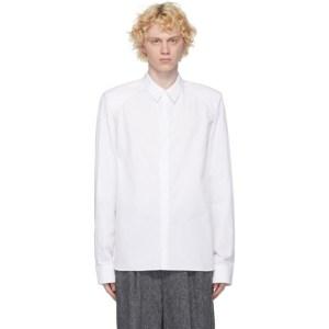 Juun.J White Poplin Shirt