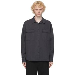 Juun.J Grey Denim Shirt