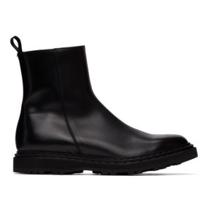 Officine Creative Black Lydon 6 Boots