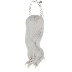Comme des Garcons Homme Plus Grey Hair Necklace