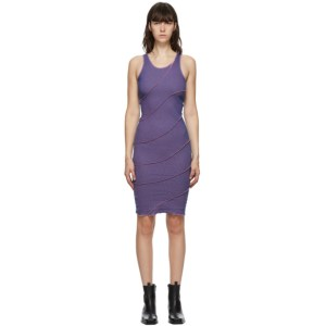 Helenamanzano SSENSE Exclusive Pink and Blue Twist Dress