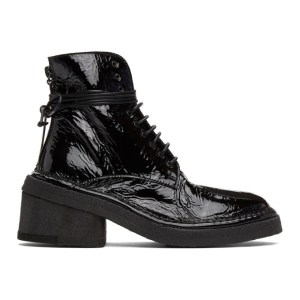 Marsell Black Burraccio Boots