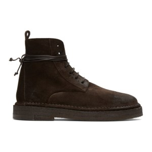 Marsell Brown Parapa Boots