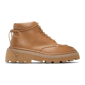 Marsell Tan Dentolone Boots