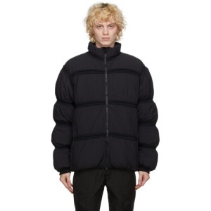 Post Archive Faction PAF Black Down 3.1 Right Jacket