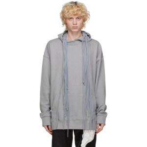 Post Archive Faction PAF Grey 3.1 Left Hoodie