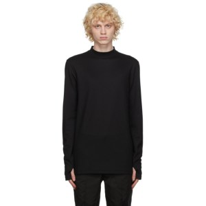 Post Archive Faction PAF Black 3.1 Right Long Sleeve T-Shirt