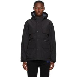 Stussy Black Taped Seam Field Jacket