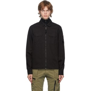 C.P. Company Black Zipper Shirt