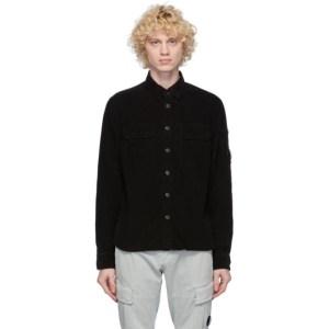 C.P. Company Black Corduroy Lens Shirt