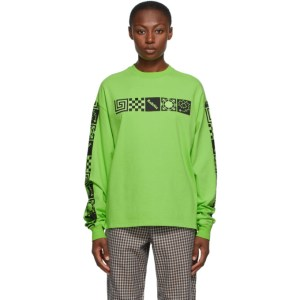Rassvet Green Logo Long Sleeve T-Shirt