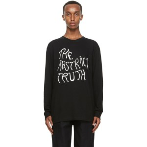Nicholas Daley Black The Abstract Truth Long Sleeve T-Shirt