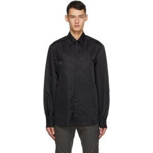 Cornerstone Black Nylon Shirt