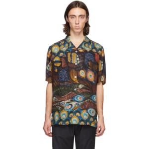 Davi Paris Multicolor Hypnos Short Sleeve Shirt
