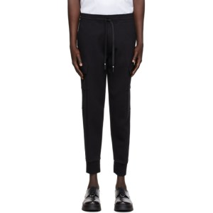 Neil Barrett Black Bolt Cargo Pants