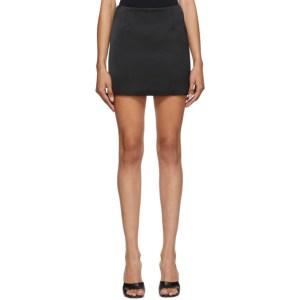 Georgia Alice Black Saint Power Miniskirt