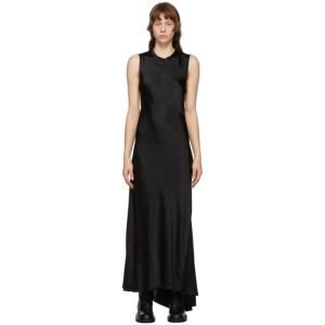 Ann Demeulemeester SSENSE Exclusive Black Keyhole Dress