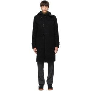 Wood Wood Black Oscar Coat