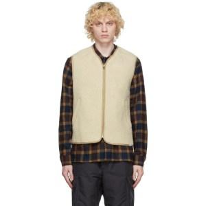 Wood Wood Beige Victor Vest