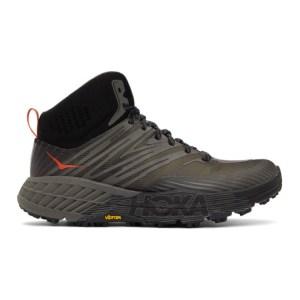 Hoka One One Black Speedgoat Mid 2 Gore-Tex® Sneakers