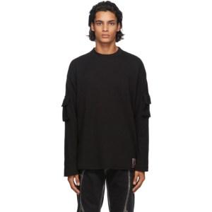 Boramy Viguier Black Army Long Sleeve T-Shirt
