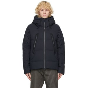 Descente Allterrain Navy Down Mizusawa Mountaineer Jacket