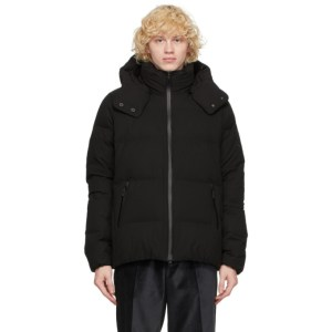 Descente Allterrain Black Down Mizusawa Anchor Jacket