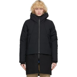 Descente Allterrain Black Down 2-In-1 Mizusawa Stratum Jacket