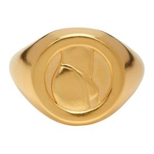 Ludovic de Saint Sernin Gold Top Ring