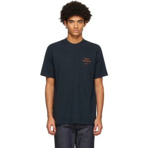 Barbour Navy Norse Projects Edition Logo T-Shirt
