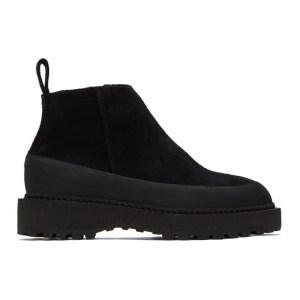 Diemme Black Suede Paderno Boots