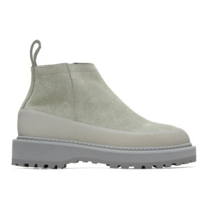 Diemme Grey Suede Paderno Boots