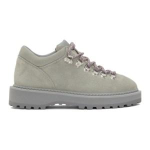 Diemme Grey Suede Monfumo Low Sneakers
