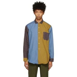BEAMS PLUS Multicolor Paisley Dobby Shirt