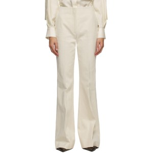 Partow Off-White Jensen Trousers