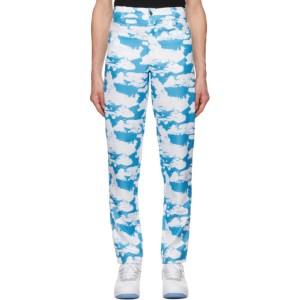 Phlemuns Blue Clouds Trousers
