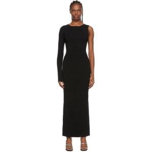 Victor Glemaud Black One Sleeve Dress