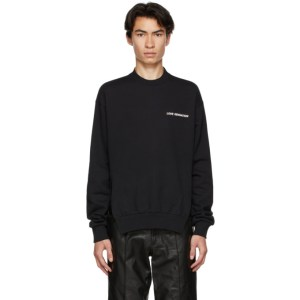 Honey Fucking Dijon Black Print Love Sensation Sweatshirt