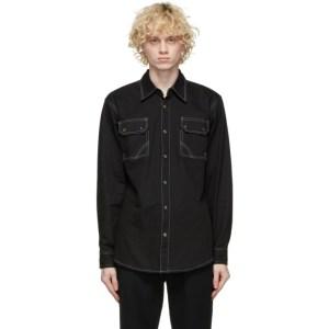 Youths in Balaclava Black Giles Shirt