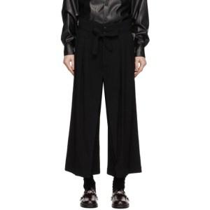 Sasquatchfabrix. Black Hakama Trousers