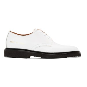 Common Projects White Standard Derbys