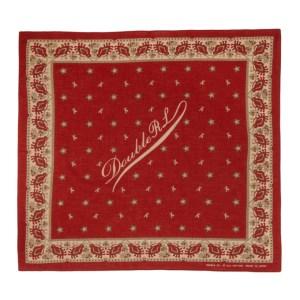 RRL Red Cotton Logo Bandana