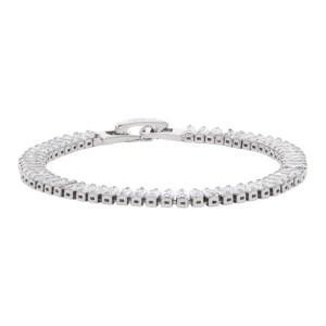 Numbering Silver 1530 Crystal Bracelet